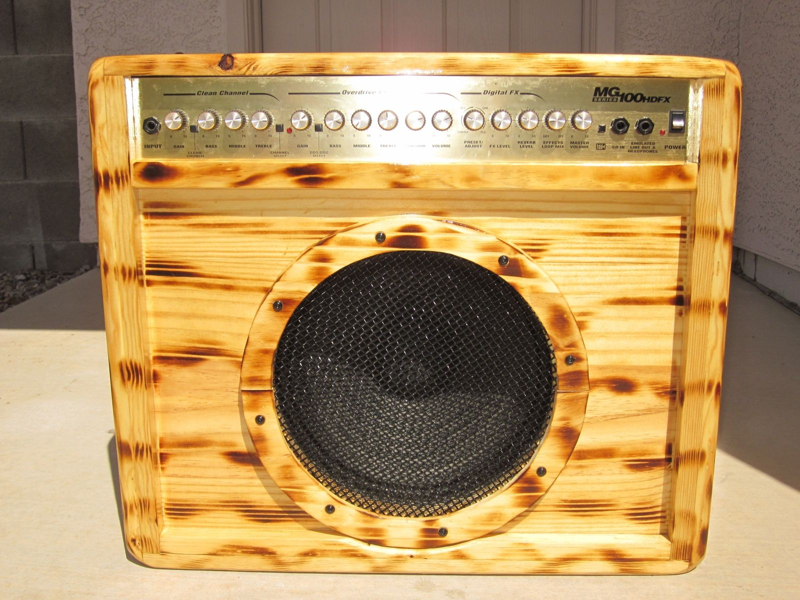 Hand Crafted Custom Speaker Box And Amp Cab by Sonoran Sandman ...