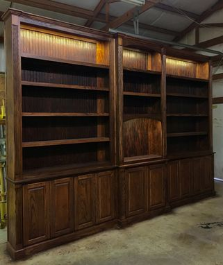 Custom Made Executive Built-In Library