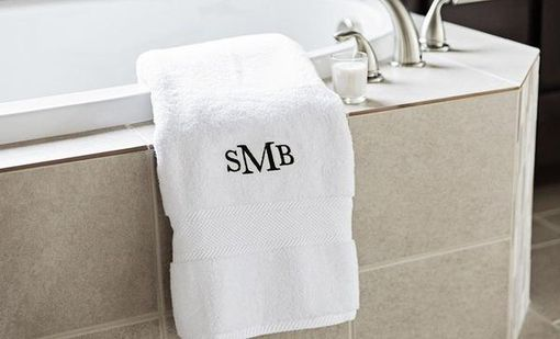 Custom Made Personalized Luxury Bath Towels