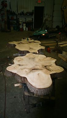 Custom Made Custom White Pine Slabs
