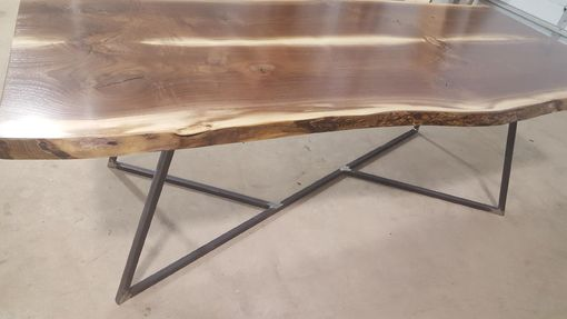 Custom Made Live Edge Dining Table