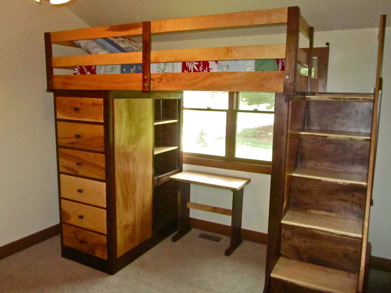 Hand Made Nicholas Bunk Bed By Drake Woodworking