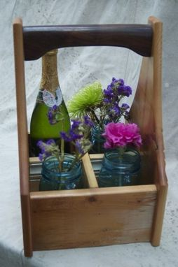 Custom Made Wine Carrier