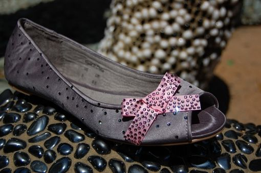 Custom Made Casual Glam Swarovski Crystal Ballet Flat Shoes