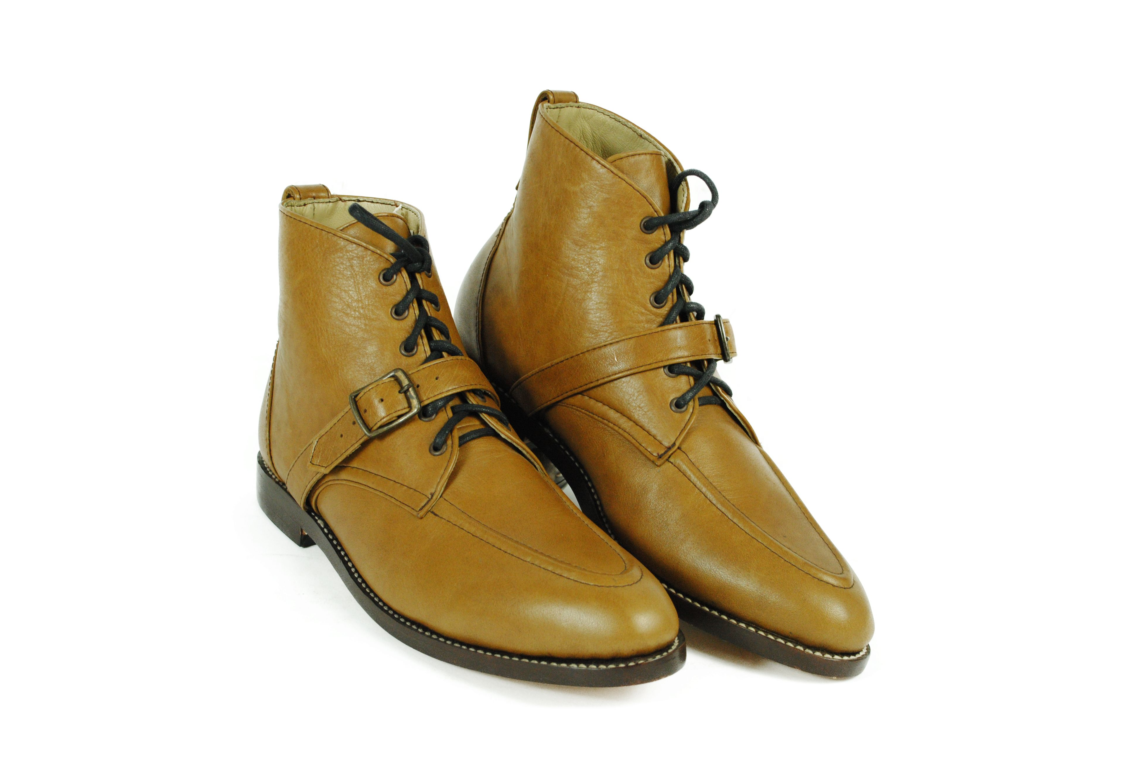77526a1aca192 Rimbaud Moc Toe Ankle Goodyear Welted Boots.