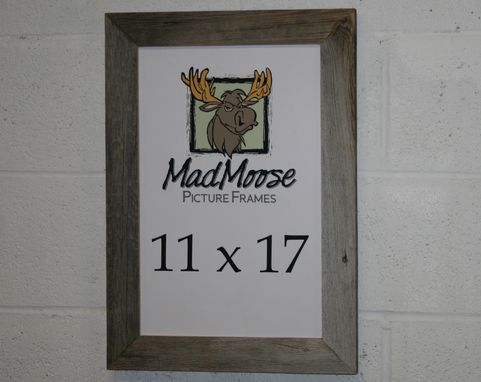 "Custom Made Barn Wood [Thin X 2""] Picture Frame"