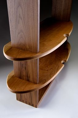 Custom Made Art Deco Shelves