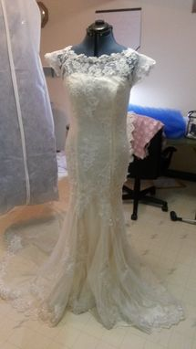 Custom Made Designer Inspired Wedding Dress