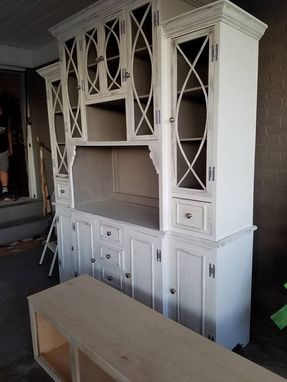 Custom Made Beautiful Hutch