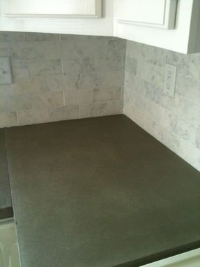 Custom Made Natural Grey Concrete Kitchen