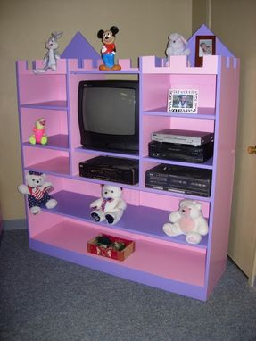 Custom Made Princess Tv Cabinet