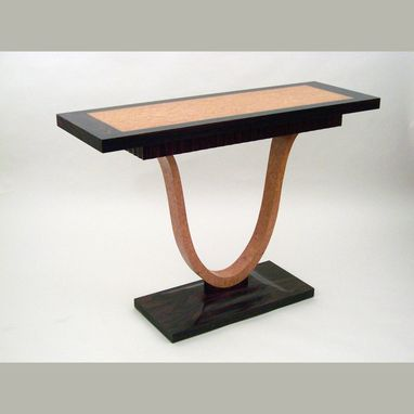 Custom Made Art Deco Side Table