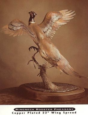 Custom Made Pheasant Sculpture