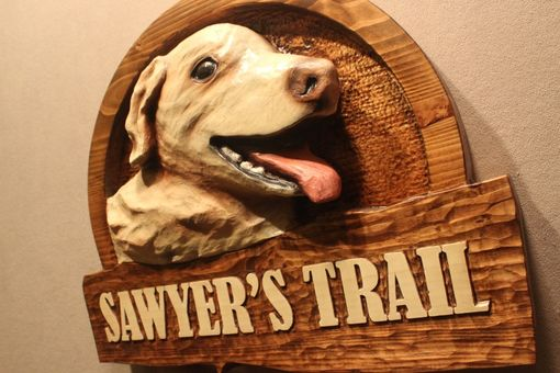 Custom Made Custom Carved Wood Signs | Handmade Signs | Dog Signs | Dog Memorials