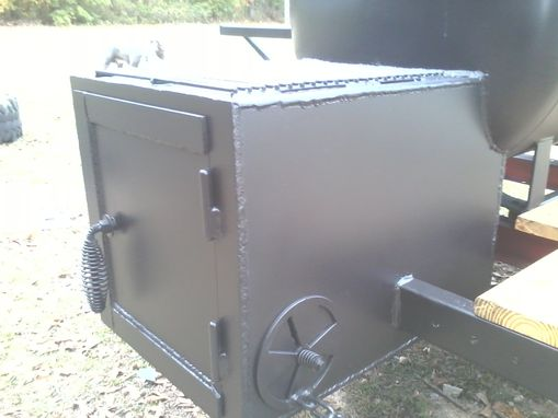 Custom Made Lions Club Smoker
