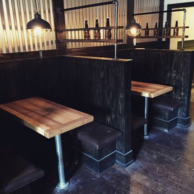 Custom Made Custom Bar Booth Tables