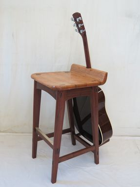 Custom Made Guitar Stool