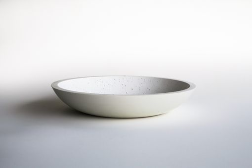 Custom Made Modern Concrete Bowl- Large 16""