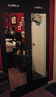 Custom Made Goth Closet Doors