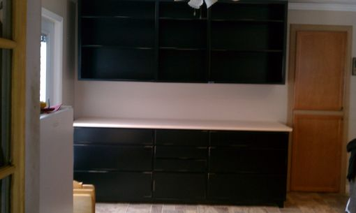 Custom Made Kitchen Cabinetry , Built In