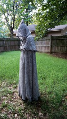 Custom Made Victorian Inspired Chiffon And Lace Full Circle Cloak