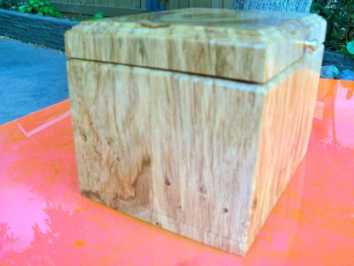 Custom Made Repurposed White Oak Box