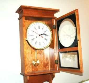 Custom Made Regulator Clock