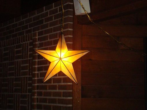 Custom Made Star Lamp