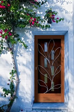 Custom Made Crestview Screen Doors With Grillwork By Susan Wallace