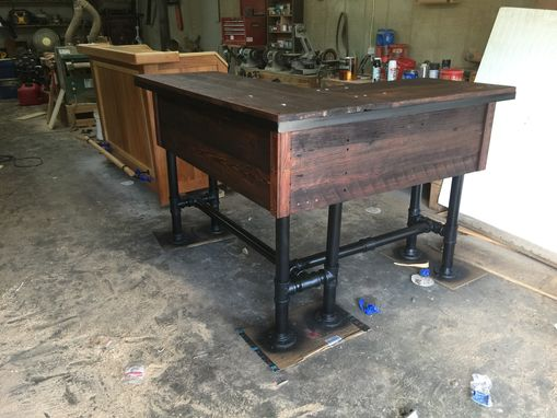 Custom Made Stand-Up Desk