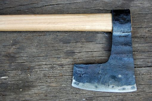 Custom Made Viking style bearded axe