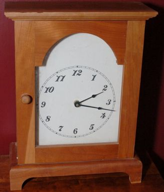 Custom Made Arch Mantle Clock