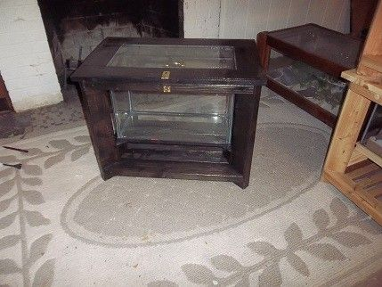 Custom Made Curio/Animal Condo Coffee Table
