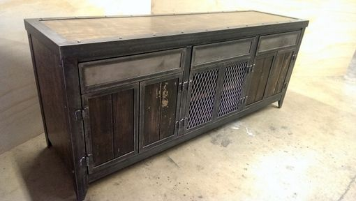 Custom Made Industrial Storage Console