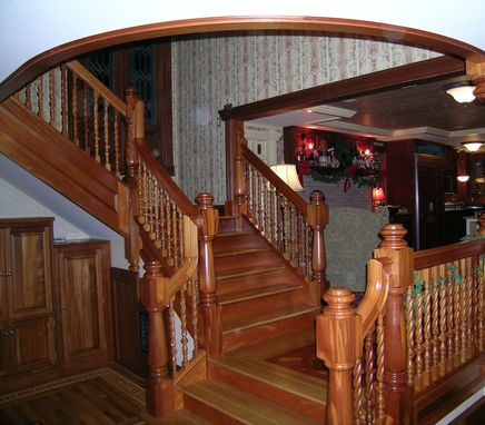 Custom Made Stairs And Mezzanine