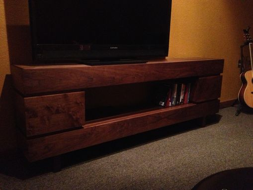 Custom Made Tv Console / Entertainment Stand