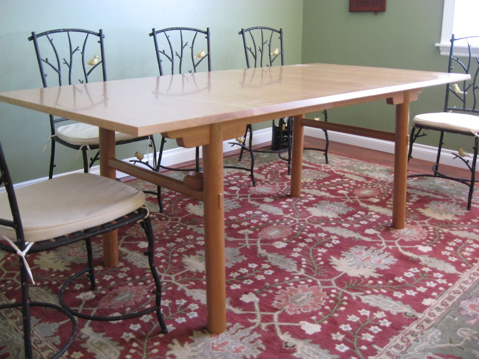 Custom Made Chinese Inspired Dining Table