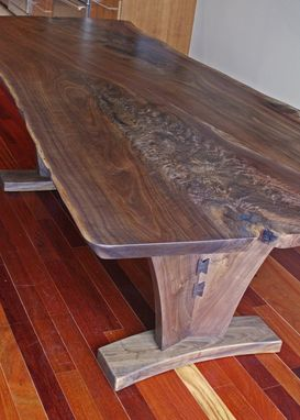 "Custom Made ""Flagship"" Dining Table In Walnut"