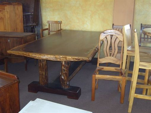 Custom Made Ding Table Set , Iron Wood , Sneezewood