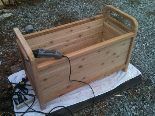 Custom Made Cedar Chest