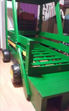 Custom Made Tractor Bed