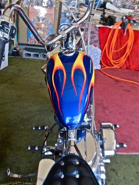 Custom Ghost Rider Replica Bike By Custom Airbrushing Az