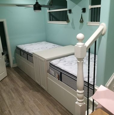 Custom Made Queen Trundle Beds For That Built In Look