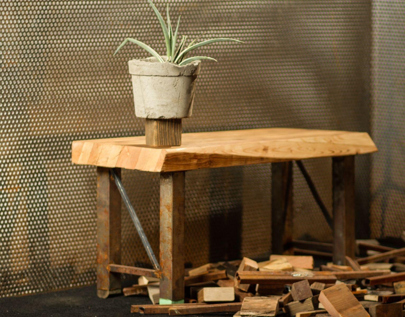 Custom Reclaimed Industrial Craftsman Furniture By