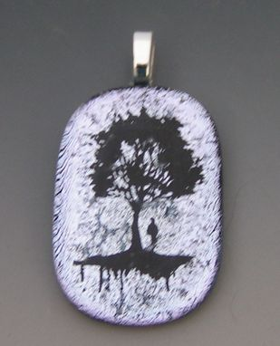 Custom Made Tree Pendant With Man