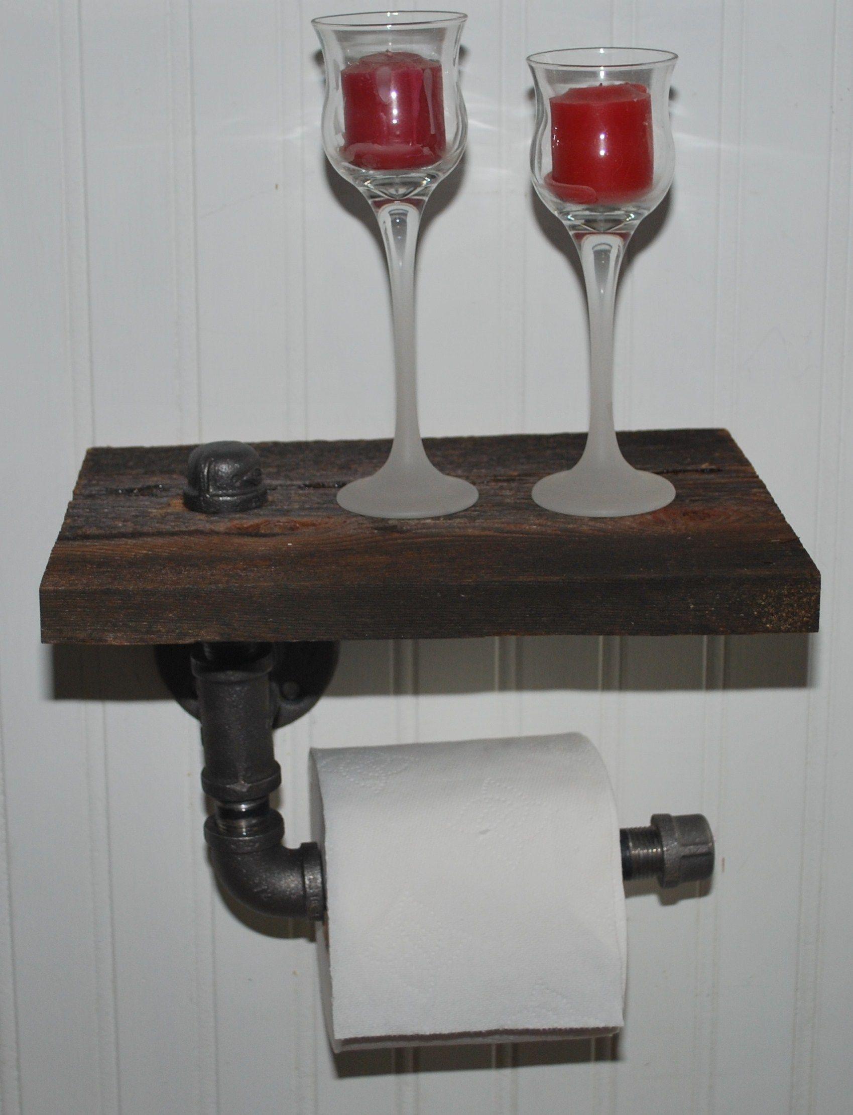 Buy A Handmade Rustic Barnwood Toilet Paper Holder Made