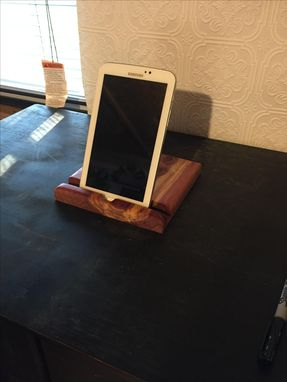 Custom Made Handmade Wooden Large Iphone Or Ipad Holder