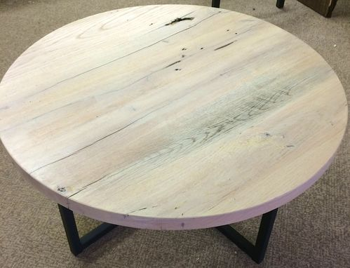 Custom Made Round Dining Table In Any Size Or Species , Unique Dining Table Or Confrence Table In Custom Size