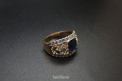 Custom Made 1.2 Carat Sapphire Engagement Ring