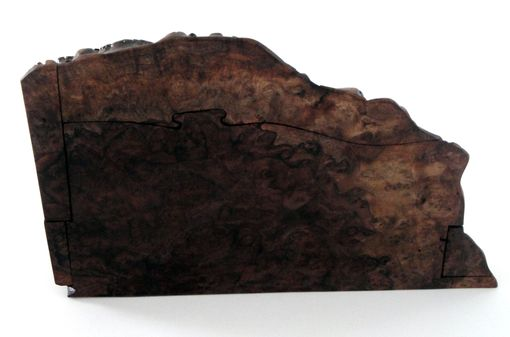 Custom Made Claro Walnut Burl Jewelry Box